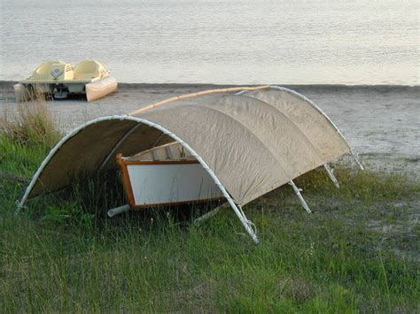 Boat Shelter Ideas by Simple Boat Shelter