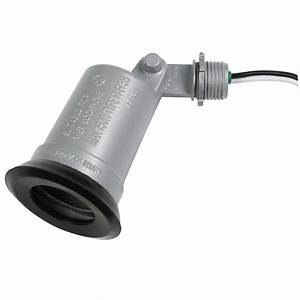 bell outdoor weatherproof led swivel lampholder ll1000s With outdoor light socket covers