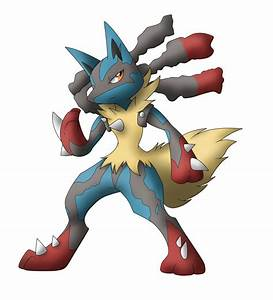 Mega Lucario by AR-ameth on DeviantArt