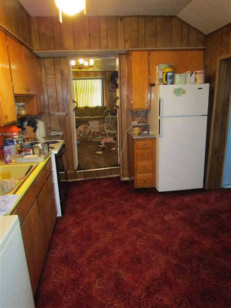 the cheapest kitchen cabinets the rug really grounds area in this kitchen cheap 6048