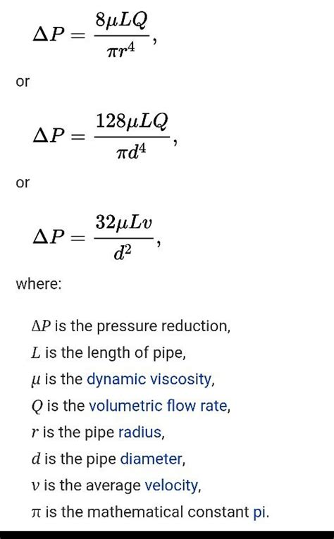 equation  finding dynamic viscosity