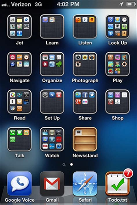 how to organize your iphone organize your iphone or android home screen for smarter