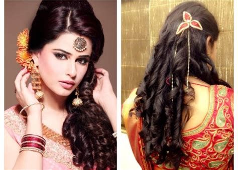 easy  fashionable hairstyles  sarees