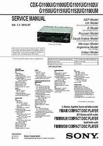 Sony Cdx Ca700x Wiring Diagram