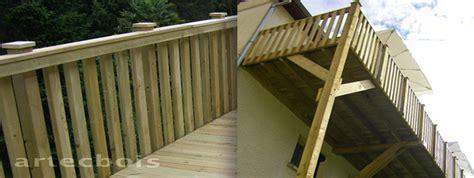 de surveillance exterieur pas cher balcons et terrasses en bois en hauteur rambardes et garde corps dans toute la