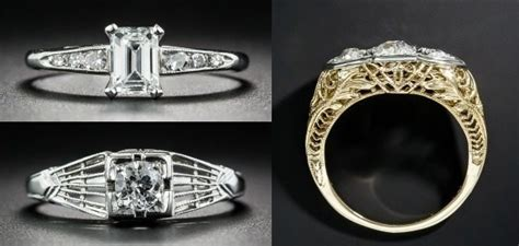 Affordable Art Deco Engagement Rings Under ,000