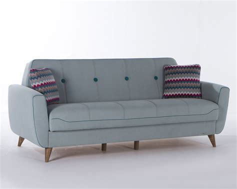 Seat Sleeper by Nora 3 Seat Sleeper Zigana Light Blue By Istikbal