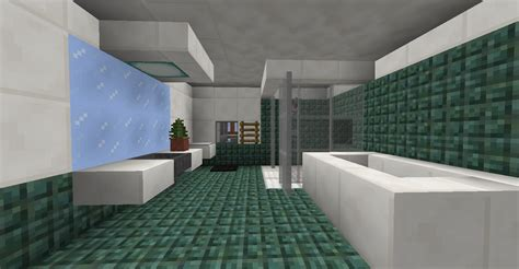 cool minecraft bathroom ideas the new blocks are great for bathrooms minecraft