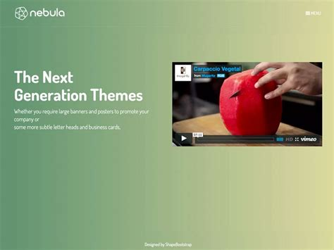 twitter bootstrap html templates free download nebula bootstrap creative html template