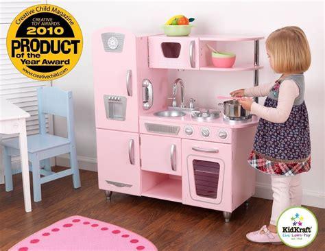 pink retro kitchen collection kidkraft vintage retro kitchen kid food cooking