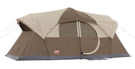 tent with hinged door coleman weathermaster 10 person hinged door tent review