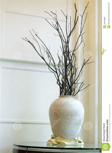 glazen huis vasse big vase with dried branches stock photo image of decor