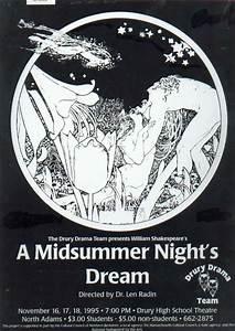 A Midsummer Night's Dream script and photos