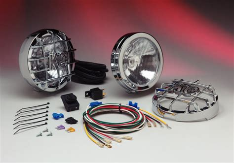 kc driving lights kc hilites slimlite driving light kit