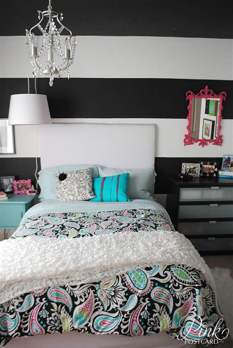 modern and colorful teen bedroom noble vintage