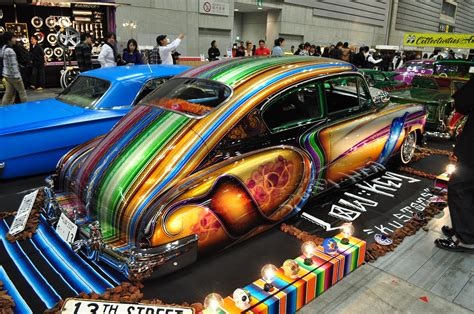 1949 Chevy Fastback Is Crazy Colorful With Lowrider Flare