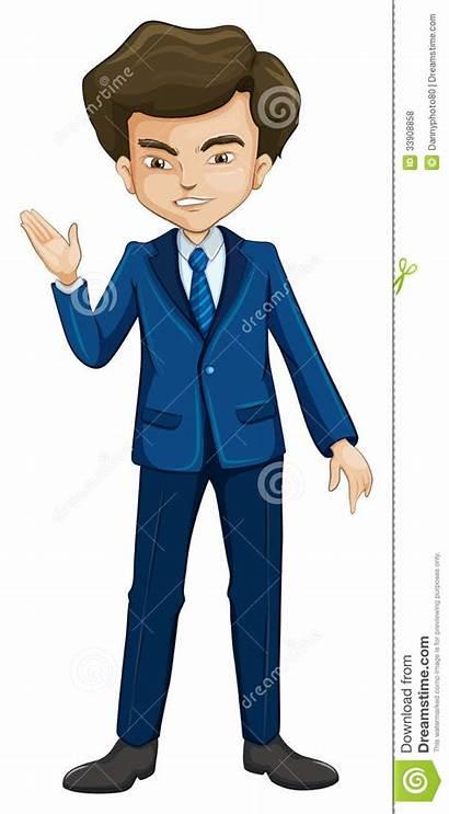Formal Attire Een Cartoon Convenzionale Abbigliamento Formele