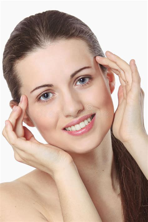 Beauty Girl Smiling Stock Image Image Of Clean, Female