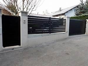 portail et cloture alu leroy merlin portail et cloture With portail exterieur brico depot