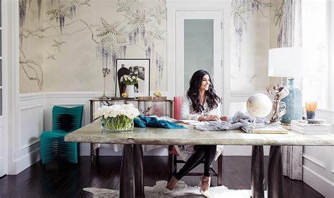 study room table home office fashion designer roy erika brechtel