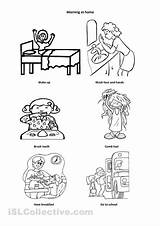 Routine Daily Coloring Worksheet Kindergarten Worksheets Pages Esol Activities Printable Grade Worksheeto Sequencing Esl Schedule Via Parts Word sketch template