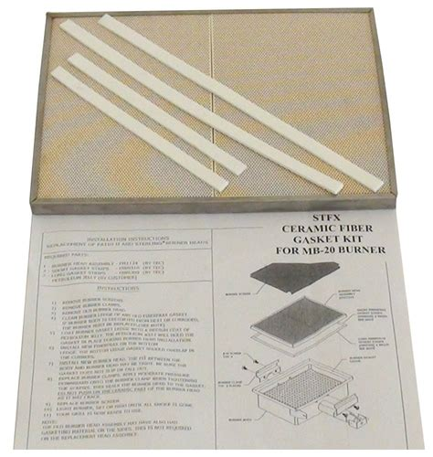tec patio ii ceramic plate with gasket kit replacement