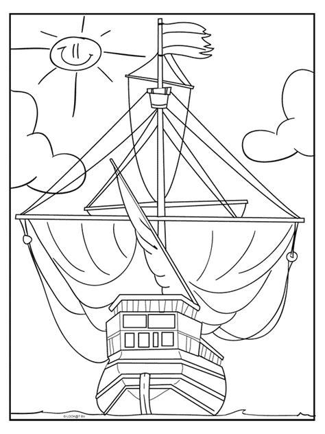 Schip Kleurplaat by Kleurplaat Voc Schip Kleurplaten Nl