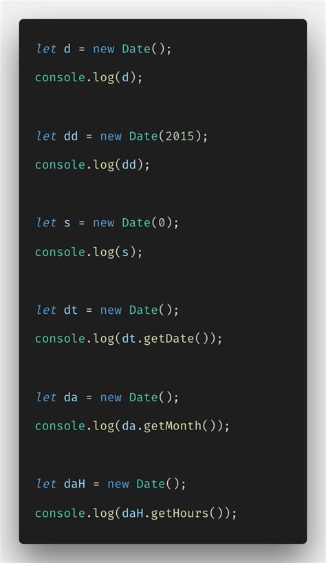 javascript date methods  objects  tutorial
