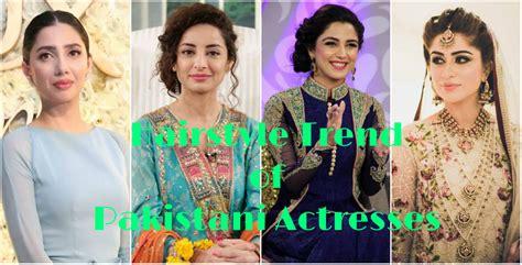 pakistani actress long hair best hairstyle trend of pakistani actresses 2018 hairdos