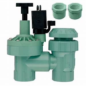 Orbit 1 In  Fpt Anti-siphon Valve With 3  4 In  Reducer-57604