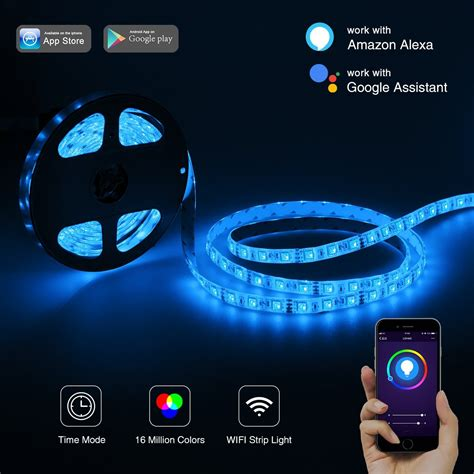 Led Lights For Room Controlled By Phone by Lohas Wifi Led Lights Work With Aleax