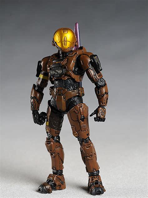 halo  brute stalker spartan eva  drone action figures
