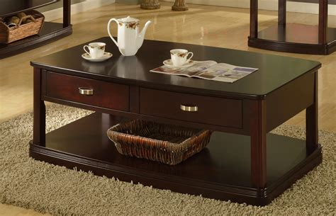 parker house coffee table parker house premiere biscayne coffee table with caster