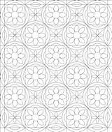 Quilt Coloring Pages Quilts Block Print Ruby Dining Room Stitch sketch template