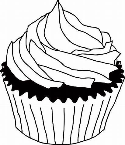 Cupcake Clipart Cupcakes Clip Drawing Birthday Cliparts