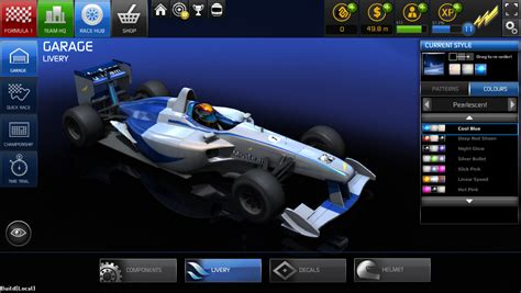 Customise Your Car And Create Your Own Racing Team With F1