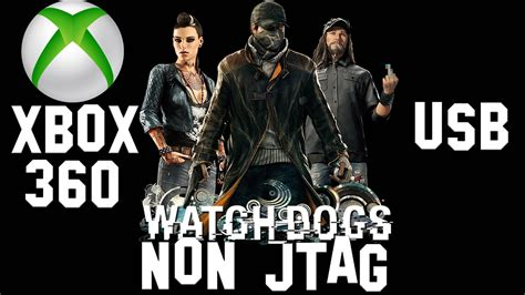 How To Install Watch Dogs For Xbox 360 Non Jtag Usb Youtube