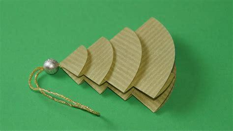 weihnachten basteln papier tannenbaum basteln falten zu weihnachten