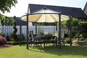 Pavillon Auf Rechnung : leco pavillon circulus 360 cm lichtgrau otto ~ Whattoseeinmadrid.com Haus und Dekorationen