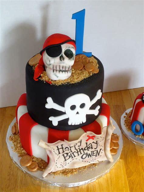 pirate theme cake  matching smash cake byrdie girl