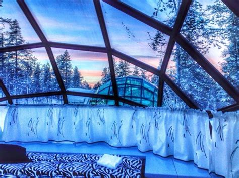 Watch The Northern Lights From Glass Igloos At Hotel