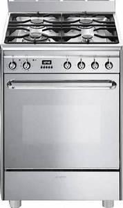 Plaque De Cuisson Gaz Smeg : scb60mx9 smeg cuisini re avec taque de cuisson au gaz elektro loeters ~ Melissatoandfro.com Idées de Décoration