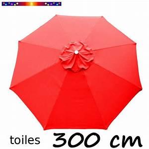 Toile De Parasol 8 Baleines : toile de remplacement pour parasol diametre 300 cm couleur ~ Dailycaller-alerts.com Idées de Décoration