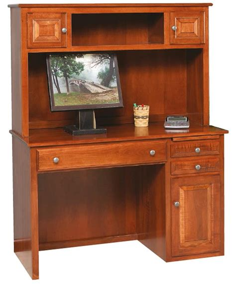 Desk With Hutch Top by Amish Student Desk With Hutch Top