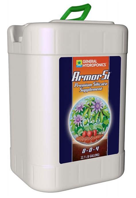 general hydroponics armor si 6 gallon