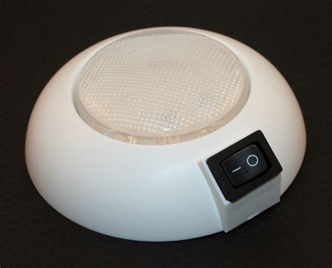 white led interior lights led dome light 4 quot diameter waterproof cool or warm