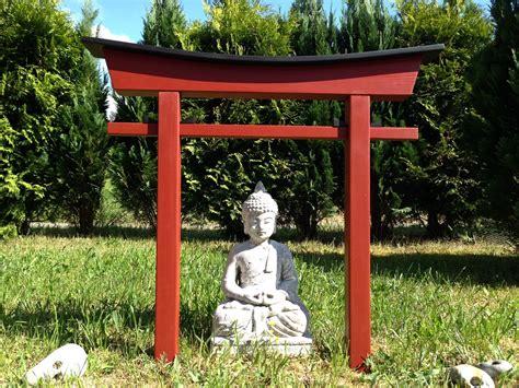 Japanisches Tor Bausatz by Torii 21 Japan Style Garten Holzbogen Torbogen Tor Holz