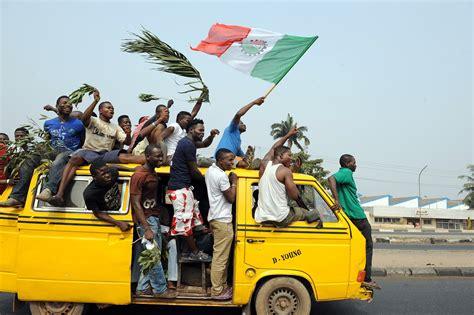 nigerias biggest city plans  scrap popular yellow minibuses