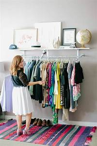 Dressing Petit Espace : petit dressing solutions pratiques de rangement ~ Teatrodelosmanantiales.com Idées de Décoration