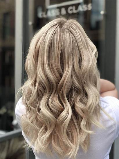 Blonde Hair Highlights Balayage Sand Class Iced